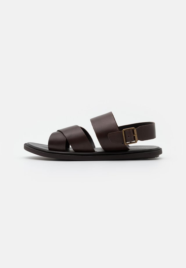 Sandals - dark brown