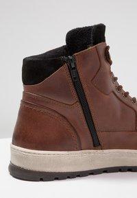 Pier One - Zapatillas altas - cognac - 5
