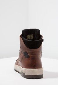Pier One - Zapatillas altas - cognac - 3