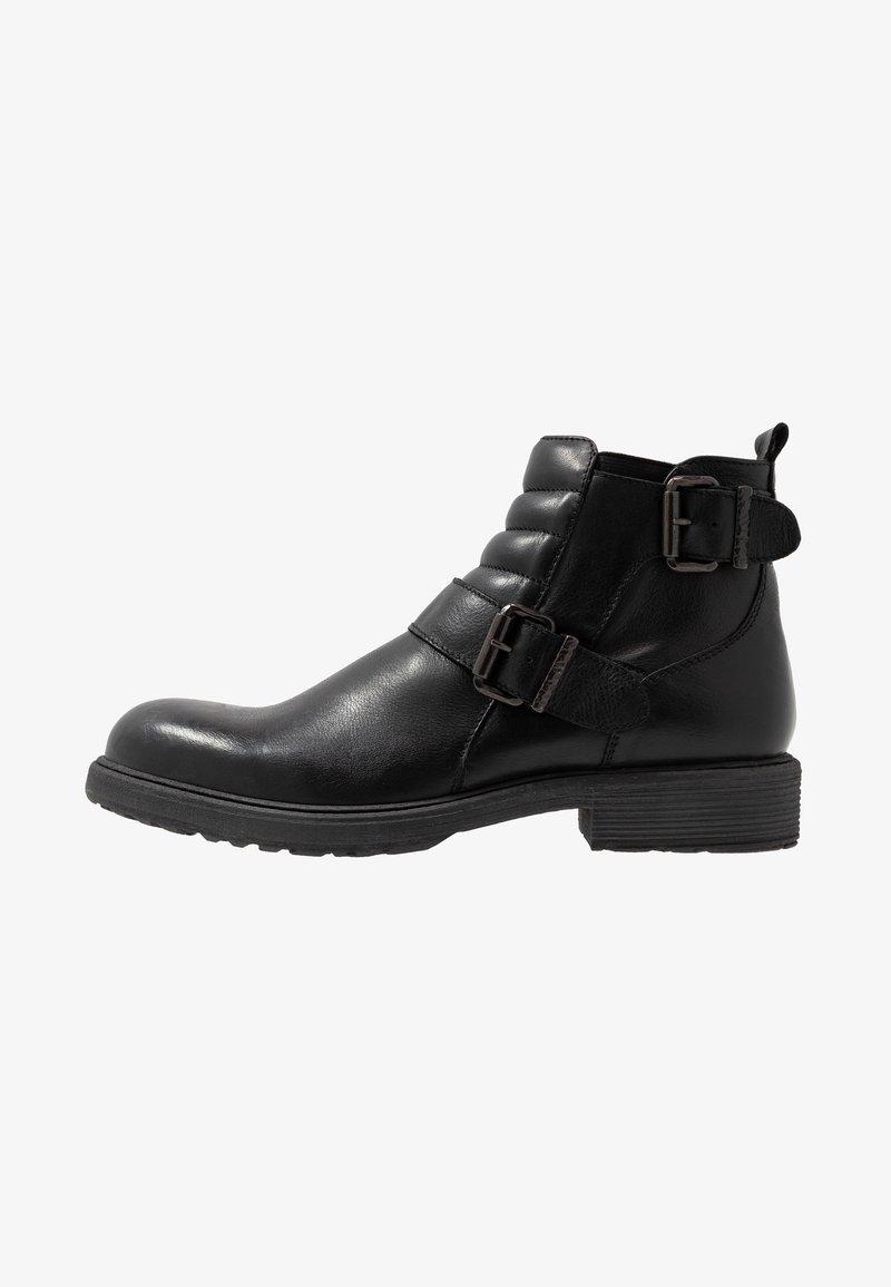 Pier One - Cowboy/biker ankle boot - black
