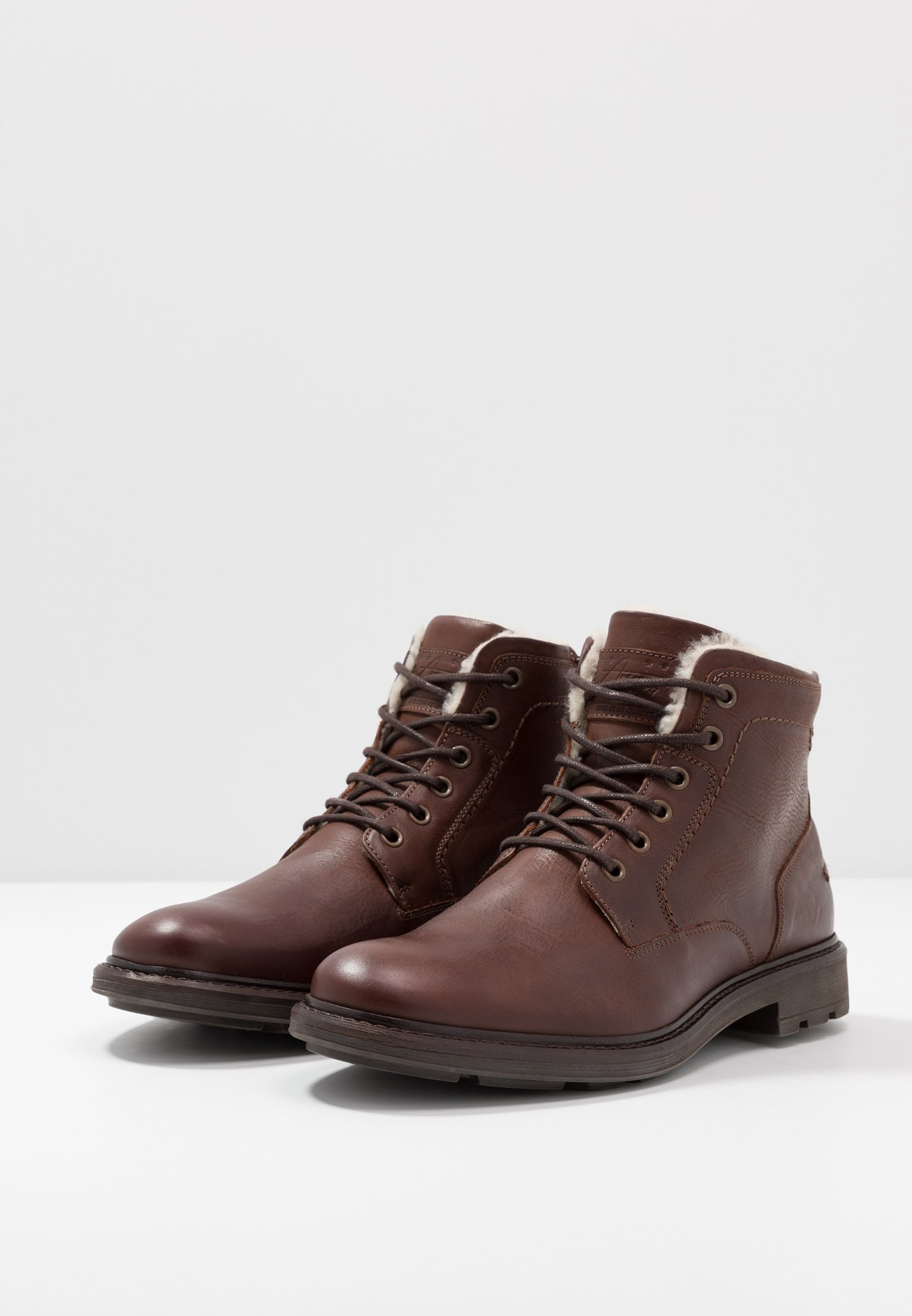 Pier One Schnürstiefelette - Brown Black Friday