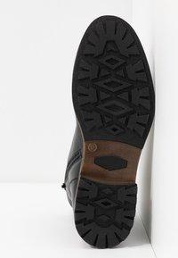 Pier One - Šněrovací kotníkové boty - black - 4
