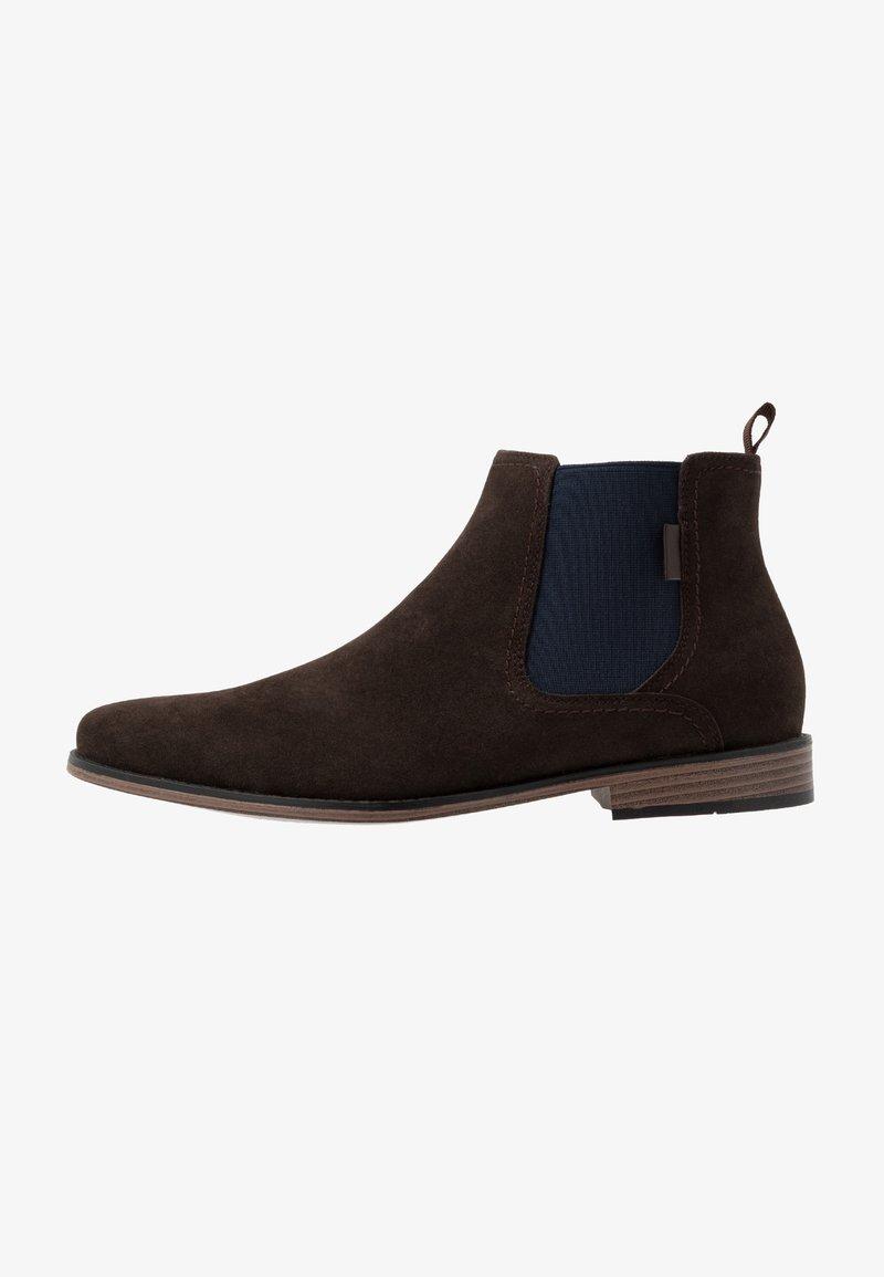 Pier One - Kotníkové boty - dark brown
