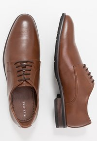 Pier One - Smart lace-ups - light brown - 1