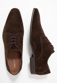 Pier One - Veterschoenen - dark brown - 1