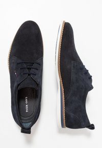Pier One - Chaussures à lacets - blue - 1
