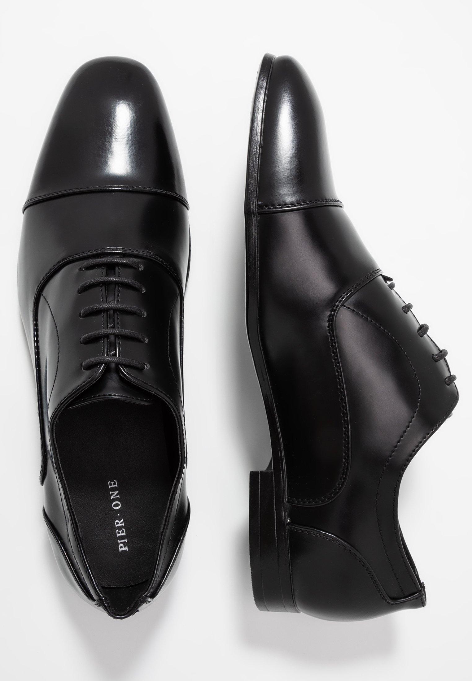 Pier One Eleganckie buty - black