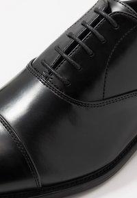 Pier One - Stringate eleganti - black - 5