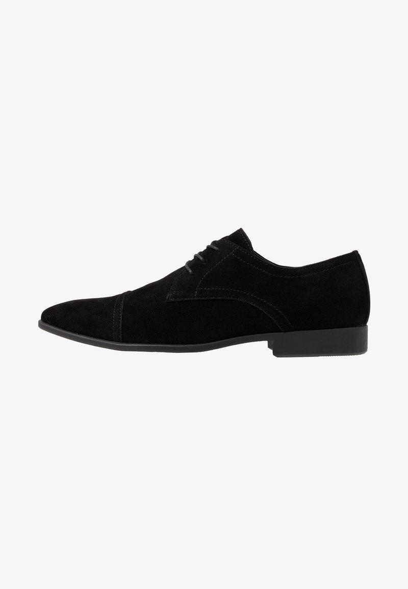 Pier One - Derbies & Richelieus - black