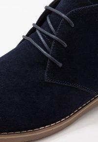 Pier One - Šněrovací boty - blue - 5