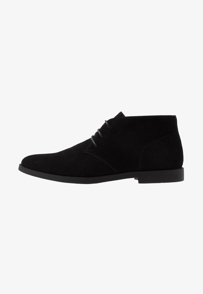 Pier One - Šněrovací boty - black
