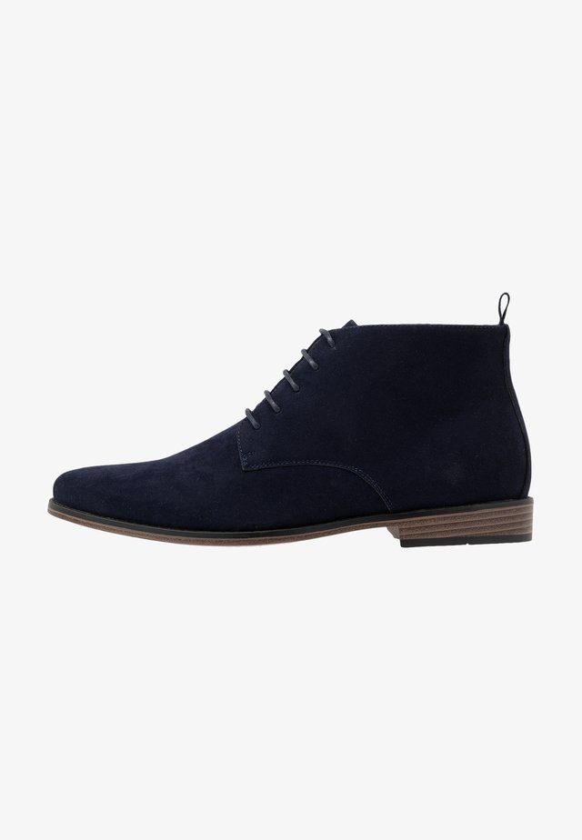 Stivaletti stringati - dark blue