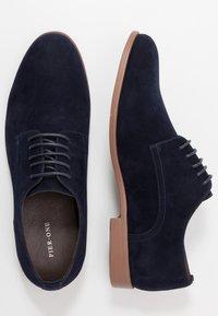 Pier One - Elegantní šněrovací boty - dark blue - 1