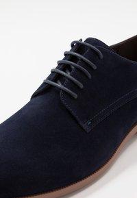 Pier One - Elegantní šněrovací boty - dark blue - 5
