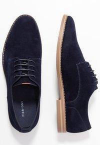 Pier One - Šněrovací boty - dark blue - 1