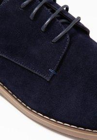 Pier One - Šněrovací boty - dark blue - 5