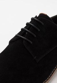 Pier One - Smart lace-ups - black - 5