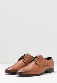 Pier One - Smart lace-ups - cognac - 2