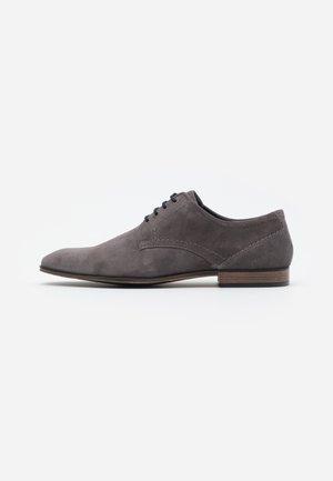 Smart lace-ups - grey