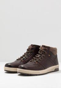 Pier One - Sneakers hoog - brown - 2