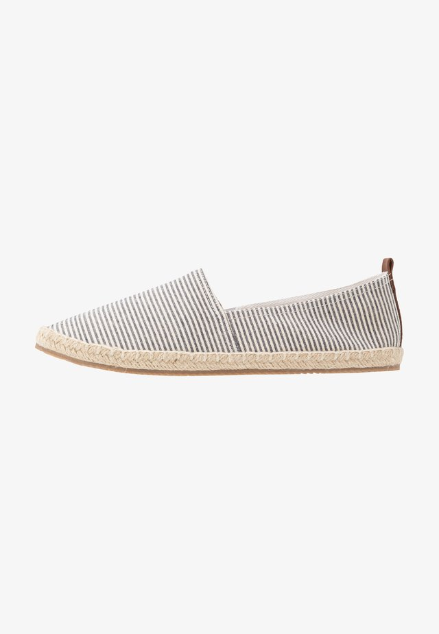 Espadrillas - white/blue