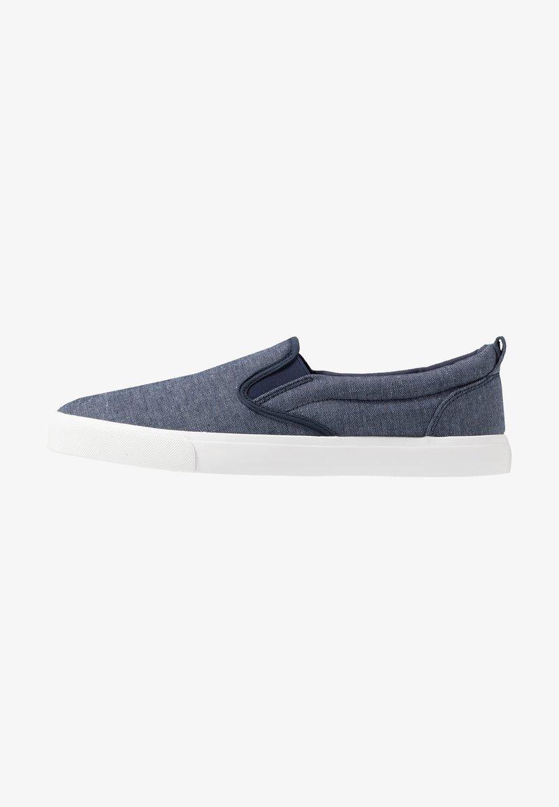 Pier One - Nazouvací boty - dark blue