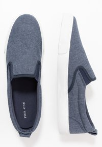 Pier One - Nazouvací boty - dark blue - 1