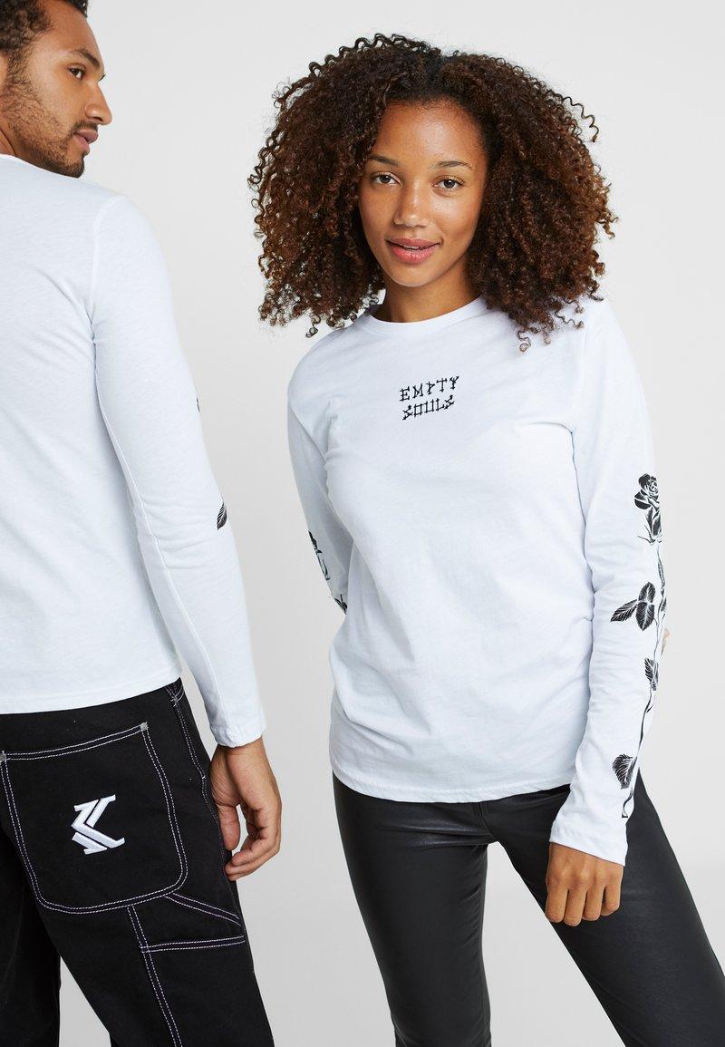 Pier One - UNISEX - Långärmad tröja - white