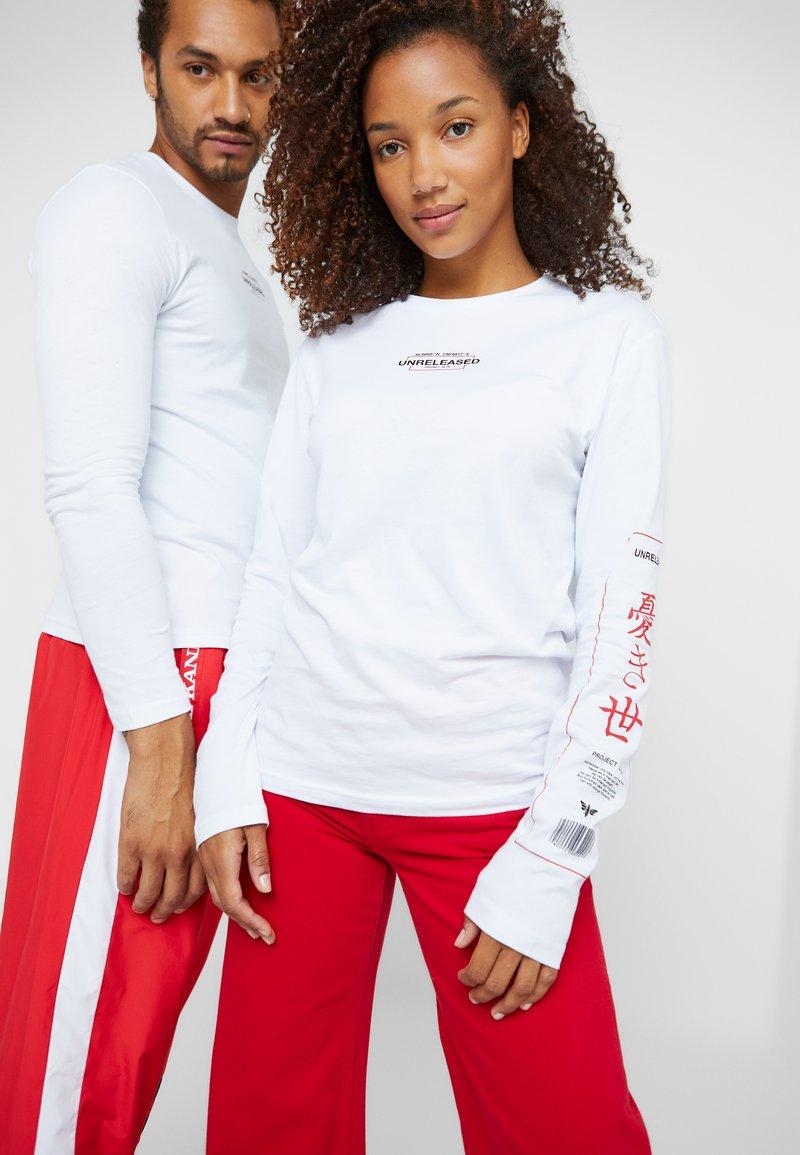Pier One - UNISEX - Long sleeved top - white