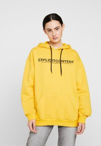 Pier One - UNISEX - Luvtröja - yellow - 4