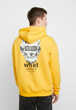 UNISEX - Sweat à capuche - yellow
