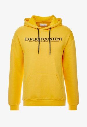 UNISEX - Jersey con capucha - yellow