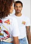 Pier One - UNISEX - T-shirt z nadrukiem - white