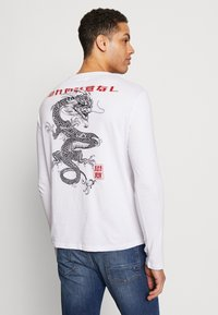 Pier One - CHINES DRAGON - T-shirt med print - white - 0