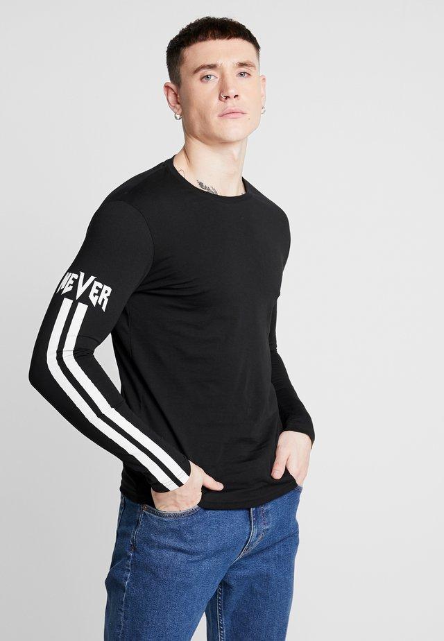 Langarmshirt - black