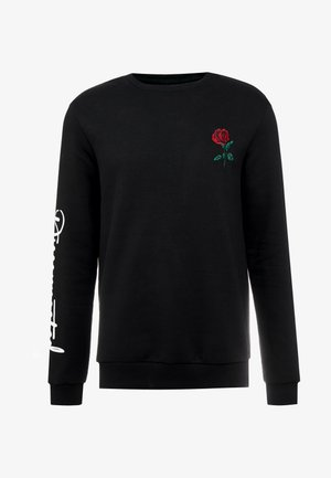 ROSE EMBRO  - Sweatshirt - black