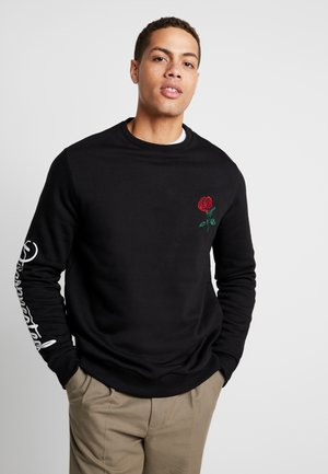 ROSE EMBRO  - Mikina - black