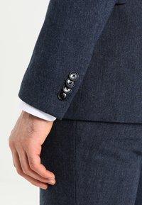 Pier One - Kostym - mottled dark blue - 7