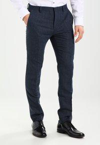 Pier One - Kostym - mottled dark blue - 4