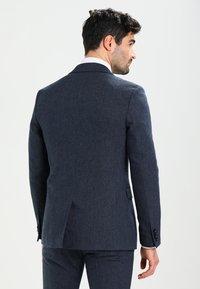 Pier One - Kostym - mottled dark blue - 3