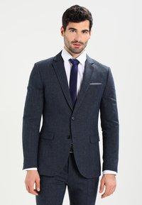 Pier One - Kostym - mottled dark blue - 2
