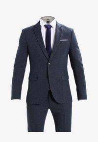 Pier One - Kostym - mottled dark blue - 10
