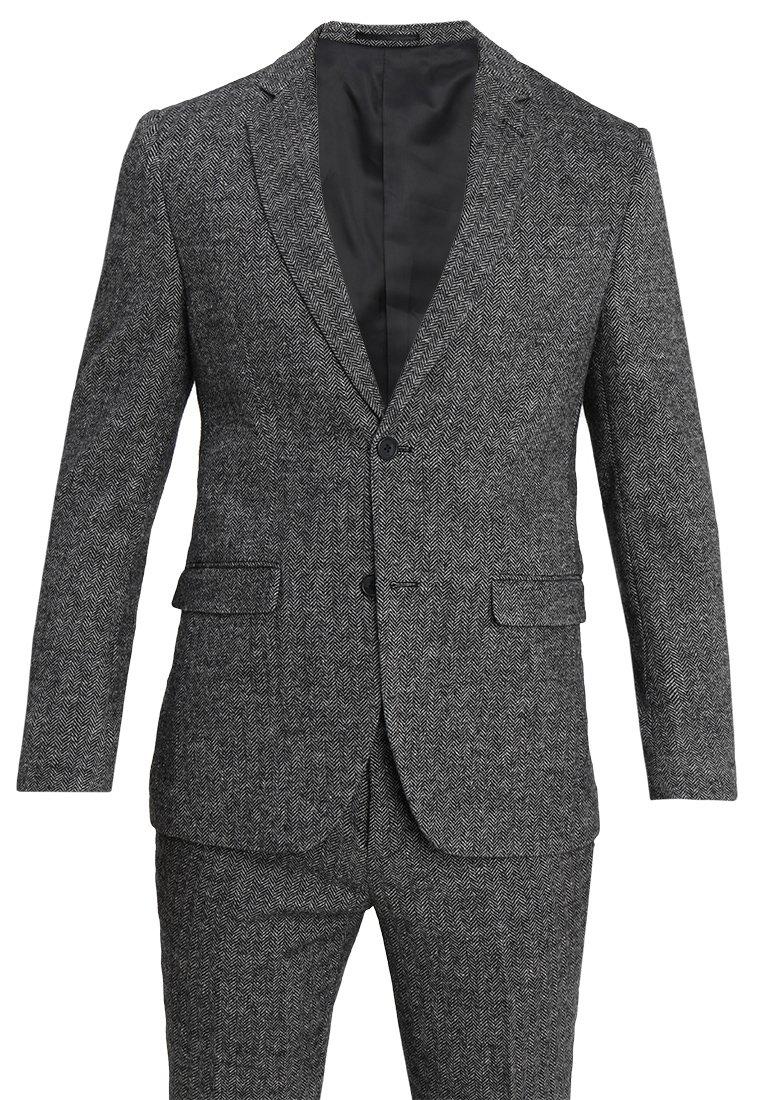Pier One - Anzug - mottled grey