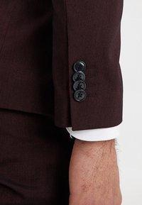 Pier One - Anzug - mottled bordeaux - 12