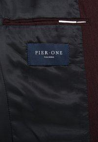 Pier One - Anzug - mottled bordeaux - 10