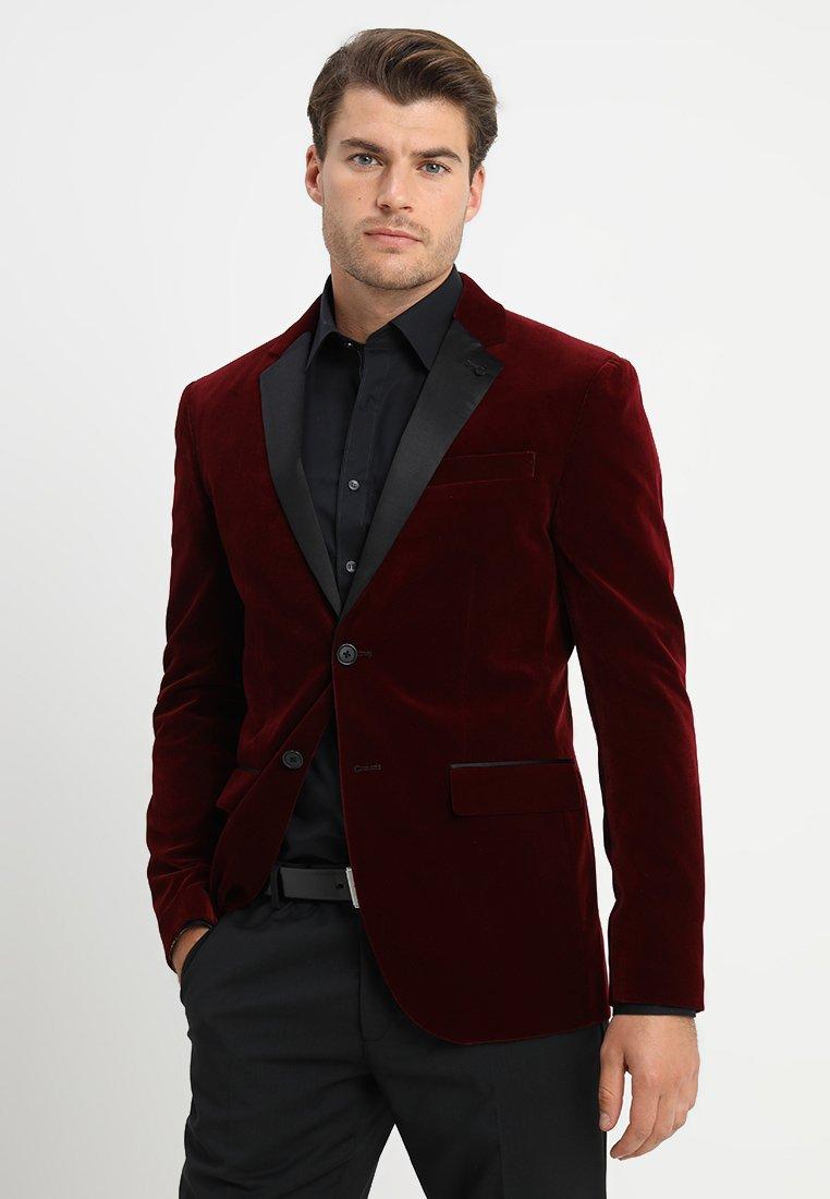 Pier One - Suit jacket - bordeaux
