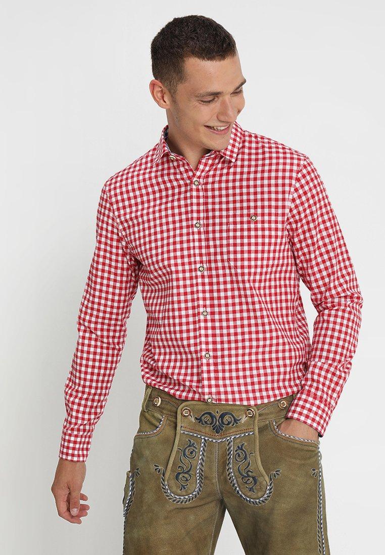 Pier One - Skjorter - red,white