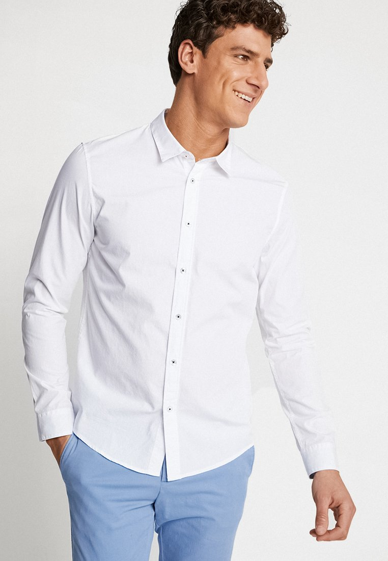 Pier One - Camicia elegante - weiss