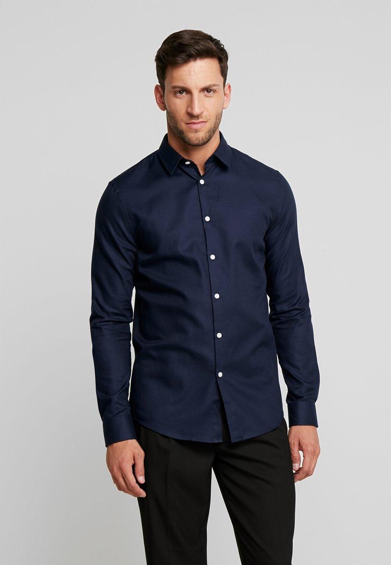 Pier One - Formal shirt - dark blue