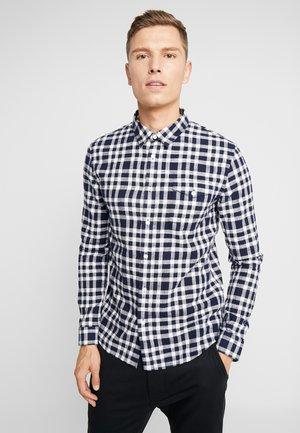 Skjorta - dark blue/white